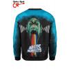 blusa moletom Arctic Monkeys costas