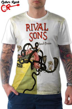 Camiseta Rival Sons Head Down