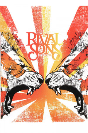 Camiseta Rival Sons Before the Fire