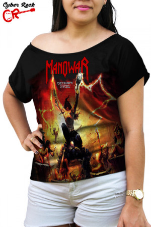 Blusinha Manowar The Triumph of Steel