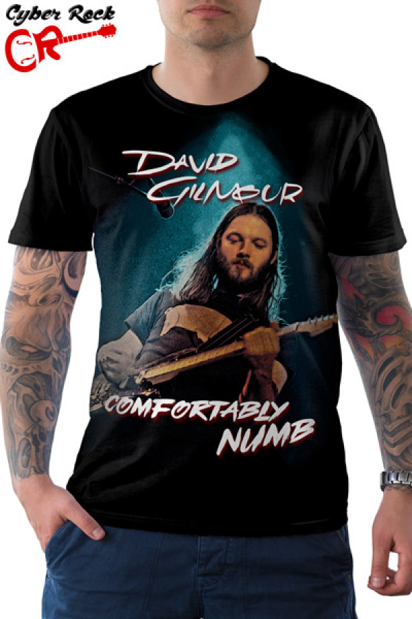 Camiseta David Gilmour Comfortably Numb