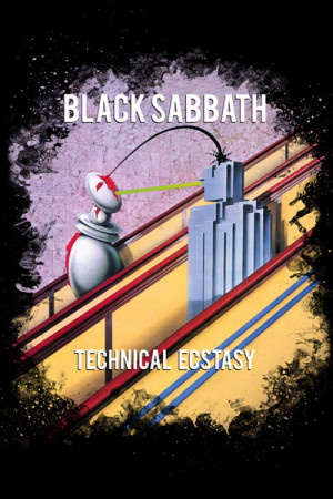 Camiseta Black Sabbath Technical Ecstasy
