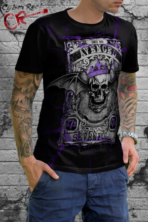 Camiseta-Avenged-Sevenfold-King