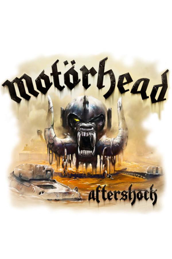 Camiseta Motorhead Aftershock Branca