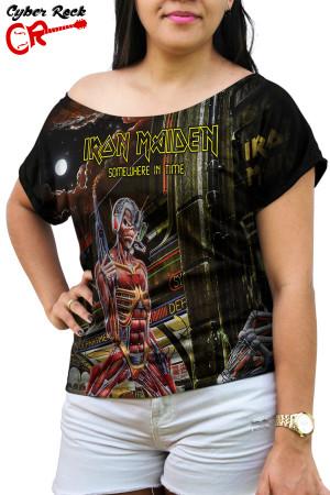 Blusinha Iron Maiden Somewhere in Time