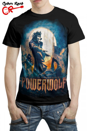 Camiseta Powerwolf Blessed & Possessed