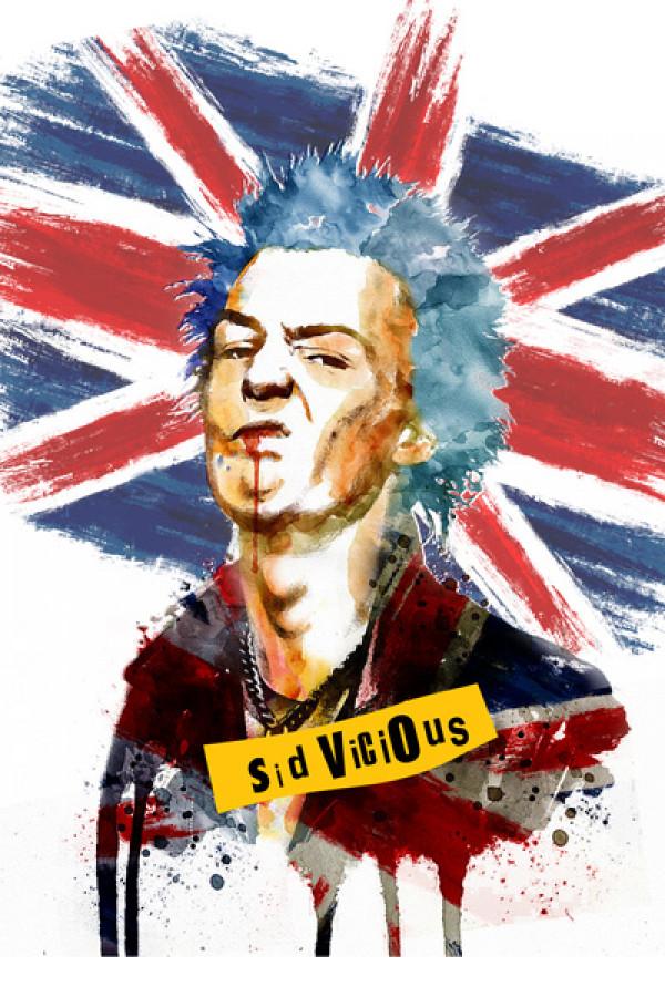 Camiseta Sex Pistols Sid Vicious