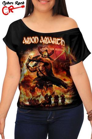 Blusinha Amon Amarth Surtur Rising