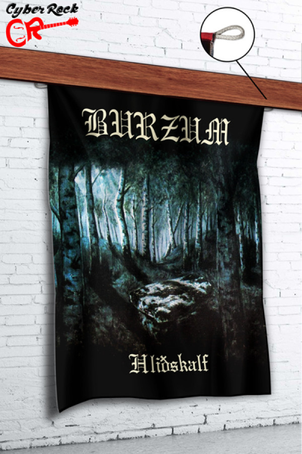 Bandeira Burzum - Hlidhskjalf