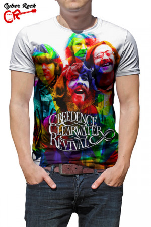 Camiseta Creedence Clearwater Revival Arte