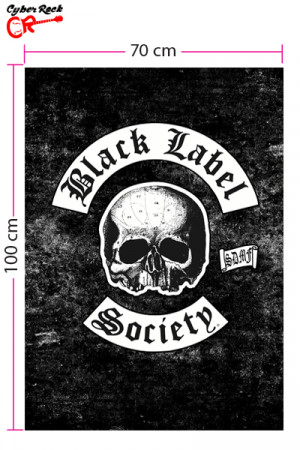 Bandeira Black Label Society