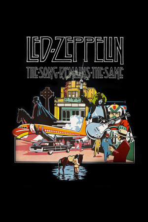 Arte Led Zeppelin-The Song Remains the Same