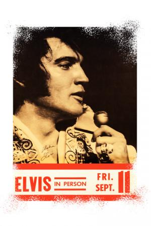 Camiseta Elvis Presley In Person