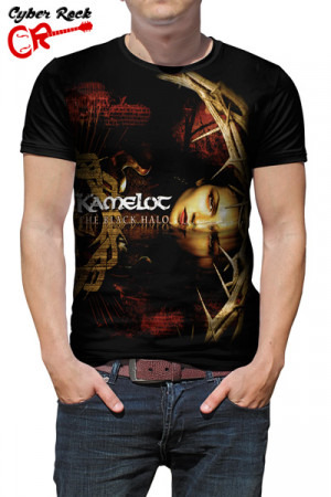 Camiseta Kamelot - The Black Halo