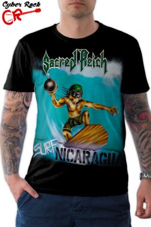 Camiseta Sacred Reich Nicaragua