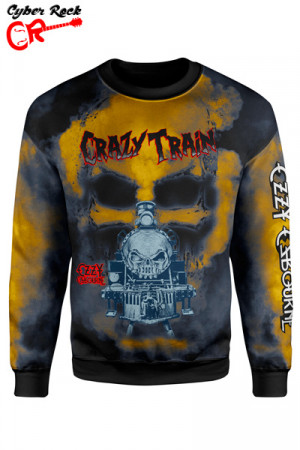 Blusa Moletom Ozzy Osbourne crazy train
