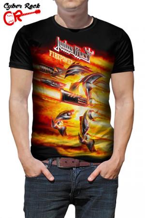 Camiseta Judas Priest Firepower