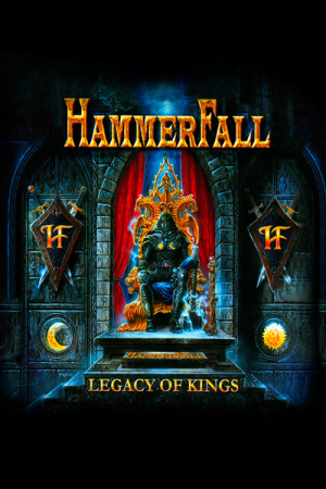 Camiseta Hammerfall Legacy of Kings