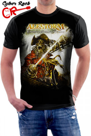 Camiseta Alestorm Captain Morgan's Revenge