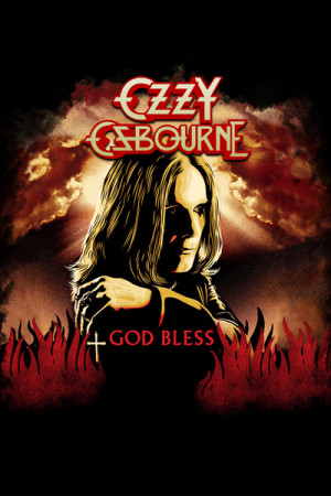 Camiseta Ozzy Osbourne God Bless