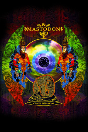 Camiseta Mastodon Crack the Skye
