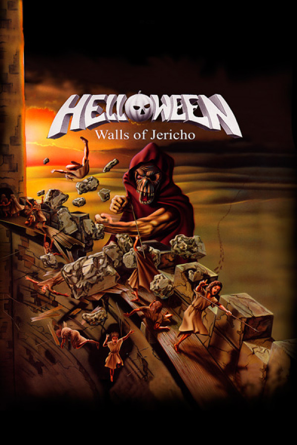 Blusinha Helloween Walls of Jericho