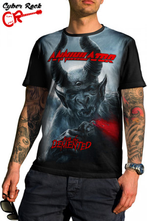 camiseta Annihilator - For The Demented.
