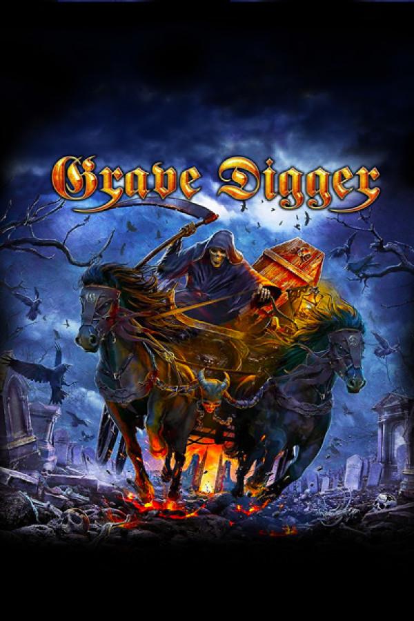 Blusinha Grave Digger Return of the Reaper