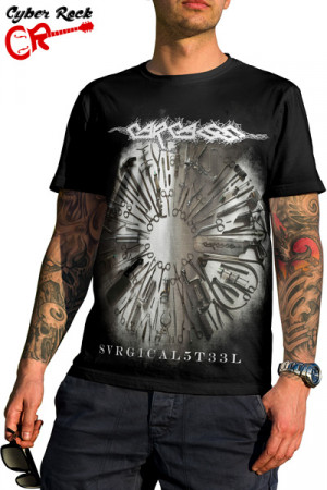 Camiseta Carcass Surgical Steel