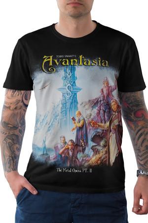 Camiseta Avantasia The Metal Opera part II