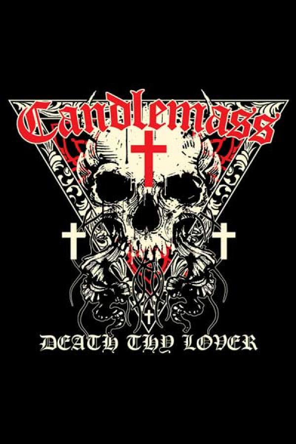 Camiseta Candlemass Death Thy Lover a