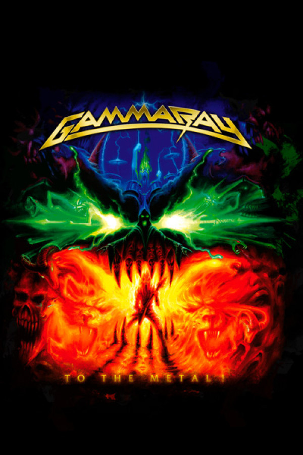 Camiseta Gamma Ray - To The Metal