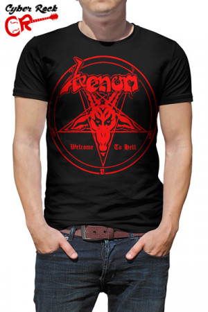 Camiseta Venom Welcome to Hell