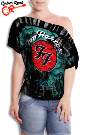 Blusinha Foo Fighters Logo