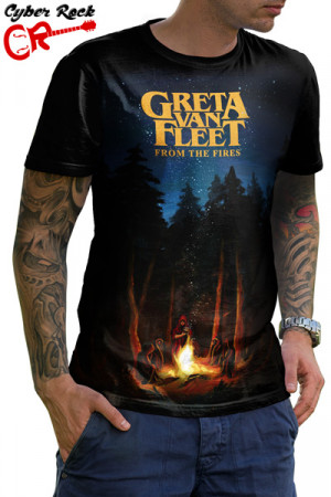 Camiseta Greta Van Fleet From The Fires