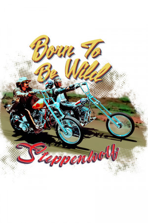 Camiseta Steppenwolf Born to Be Wild bca a