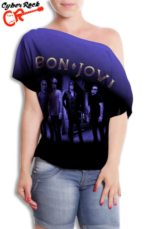 Blusinha Bon Jovi Logo