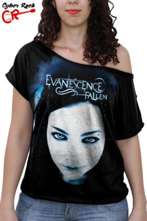 Blusinha Evanescence Fallen