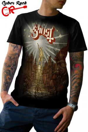 Camiseta Ghost bc Popestar