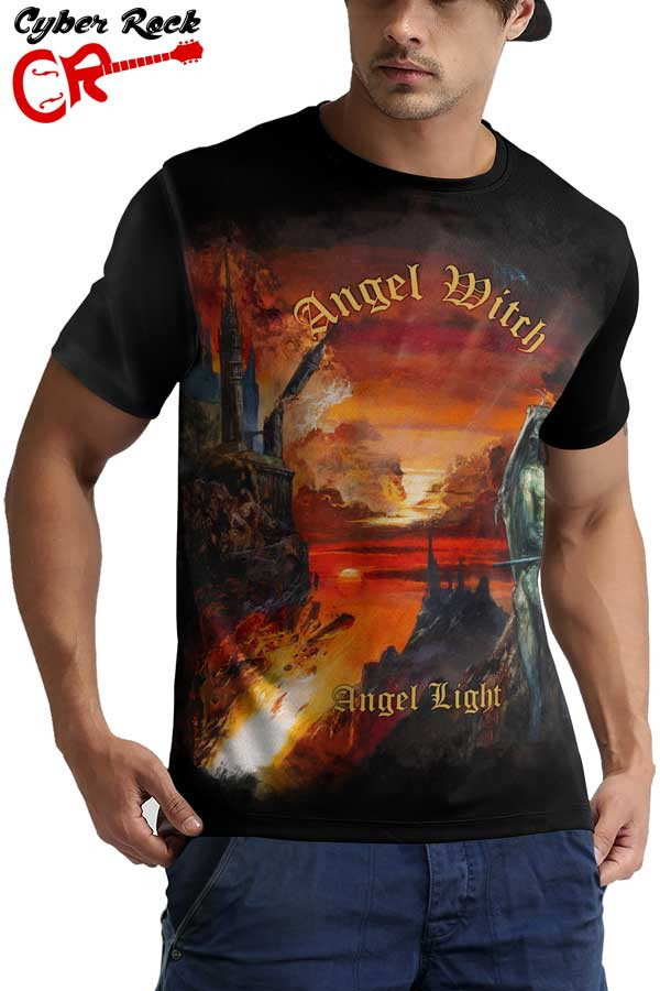 Camiseta Angel Witch Angel Light