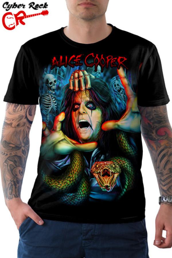 Camiseta Alice Cooper