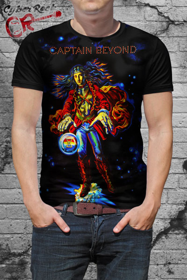 Camiseta Captain Beyond