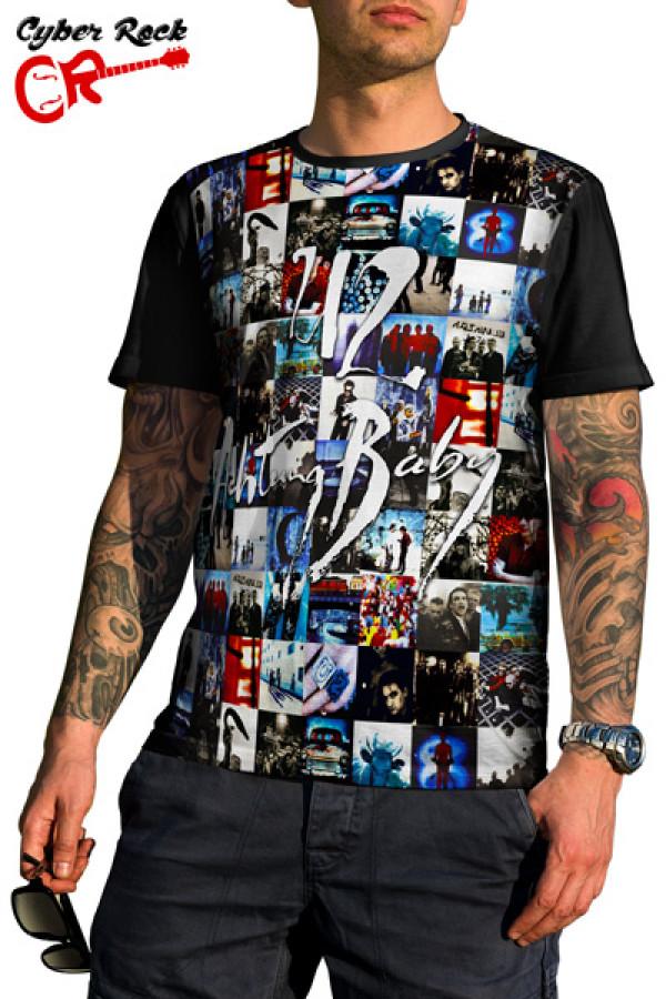 Camiseta U2 Achtung-Baby
