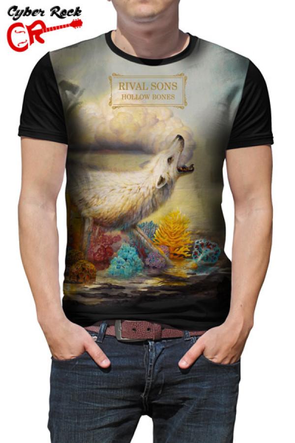 Camiseta Rival Sons Hollow Bones