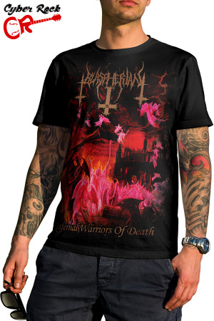 Camiseta Camiseta Blaspherian-Infernal Warriors of Death