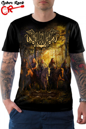 Camiseta Arkona Decade Of Glory