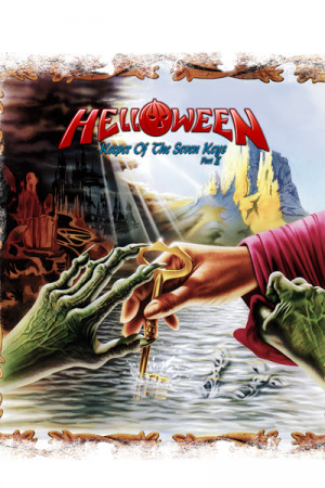 Camiseta Helloween Keeper Of The Seven Keys Branca