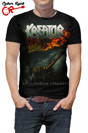 Camiseta Kreator Civilization Collapse