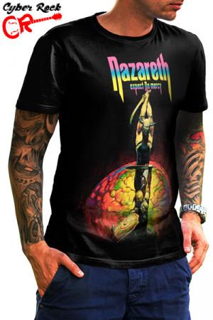Camiseta Nazareth Expect No Mercy Album Cover