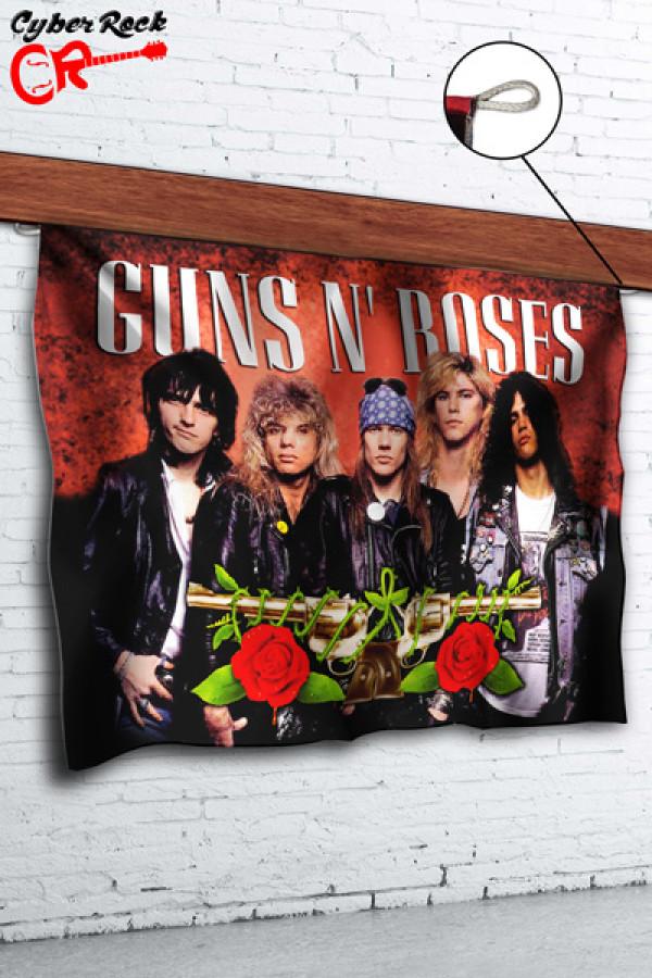 Bandeira Guns n' Roses